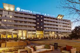 Protea hotel or tambo shuttle service