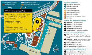 or tambo airport long stay parking