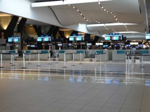 Johannesburg airport check in counters