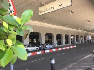 Johannesburg airport pick up zone