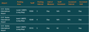 OR-Tambo-airport-parking-tariff-long-stay