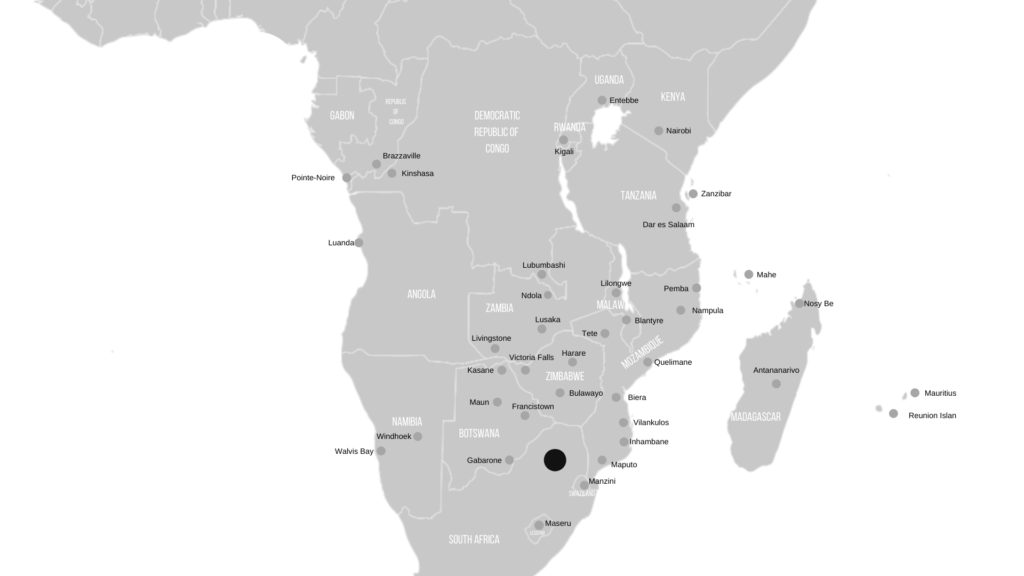 regional flight destinations from O.R Tambo International Airport